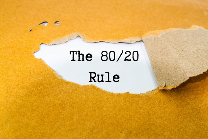 80/20 weight loss rule